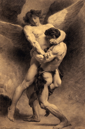 Jacob wrestling angel