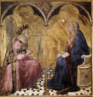 Siena annunciation