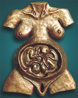 Rebekah sculpture