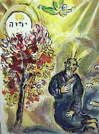Marc_chagall-moses_and_the_burning_bush